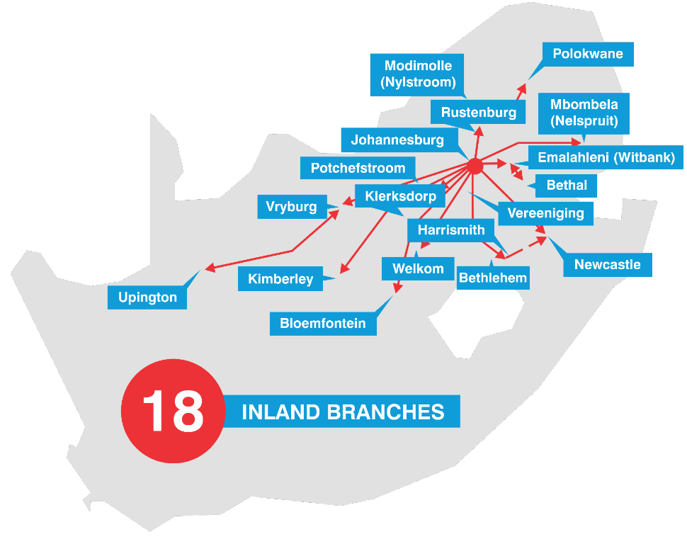 Inland-Branches